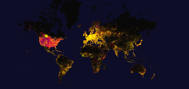 Visualisatie: 10 jaar Open Street Map