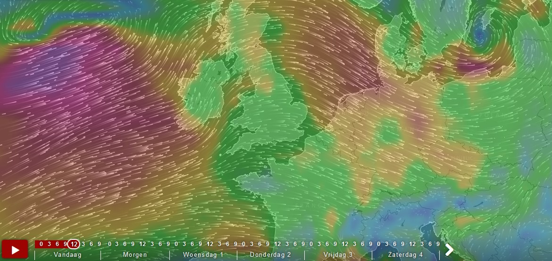 Mooie visualisaties van windsnelheden