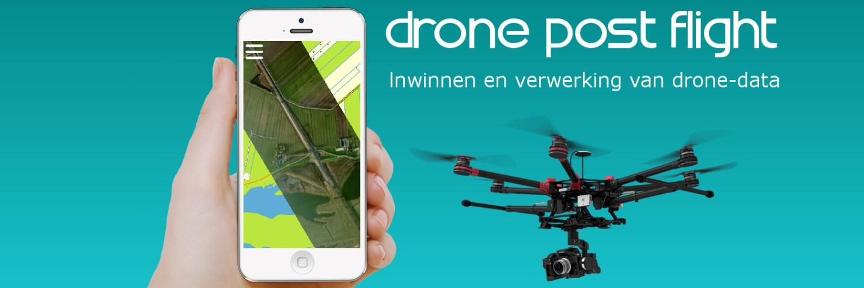 Drone Post Flight kaarten maken met drones