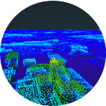 Leiden puntenwolk 3D