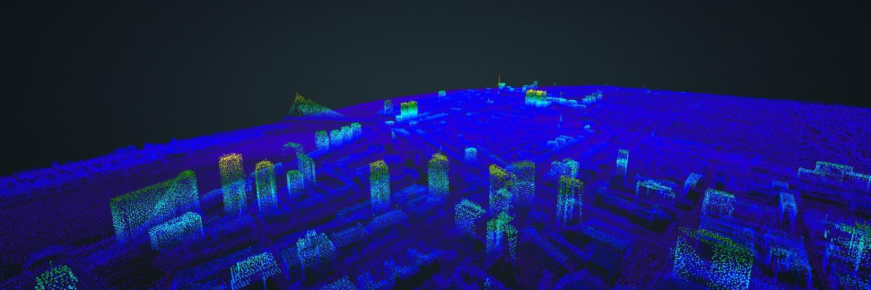 3D Puntenwolken Rotterdam, Amsterdam en Den Haag