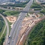 luchtfoto Chemelot snelweg