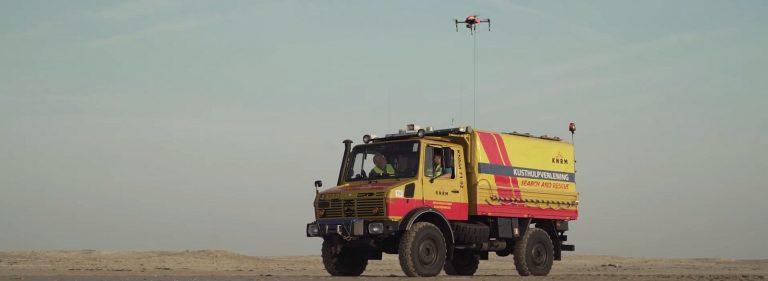 aeret knrm drone cablecopter opsporen drenkeling