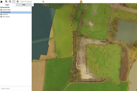 aeret rijkswaterstaat drone vegetatie kartering uiterwaarden natuur na