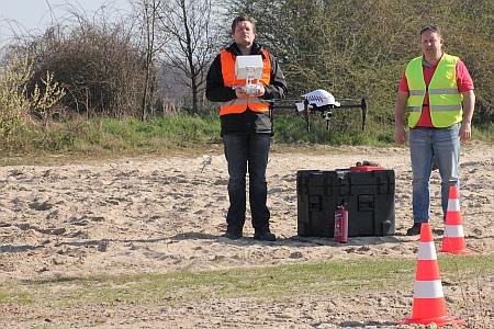 aeret drone rijkswaterstaat mapping uiterwaarden vegetatie