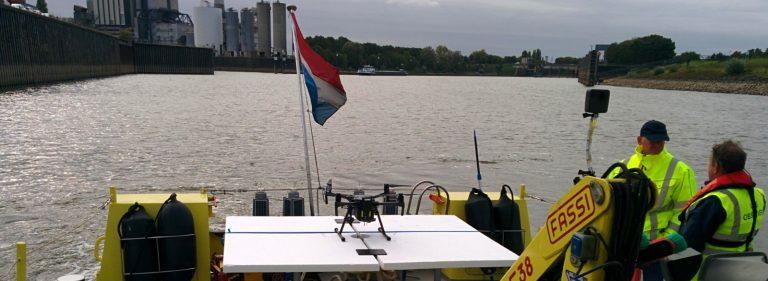 aeret drone rijkswaterstaat challenge 2018
