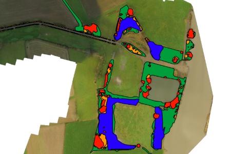 aeret rijkswaterstaat drone vegetatie kartering