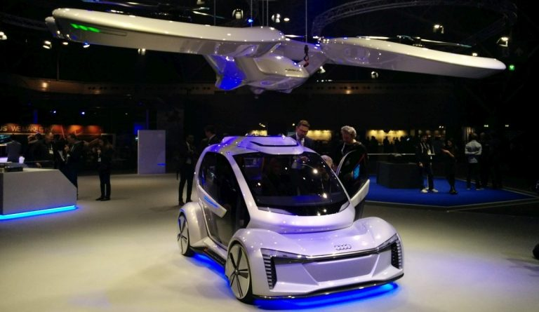 amsterdam drone week airbus audi flying car