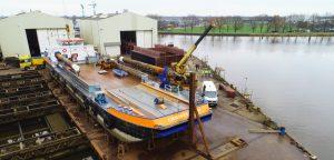 Drone-inspectie schip met ILenT
