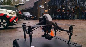 Bijeenkomst Space53 & Drone-demonstratie
