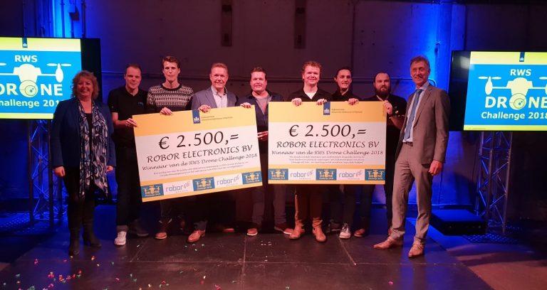robor electronics winnaar rijkswaterstaat drone challenge 2018