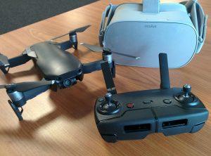 Integratie 360° panorama foto's in VR bril en GIS