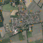 Aeret GIS 360 panorama vanuit een drone