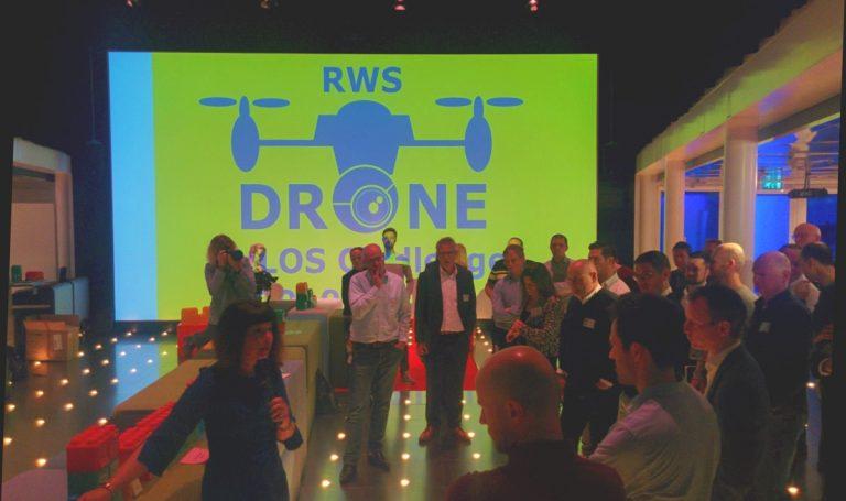 bijeenkomst Rijkswaterstaat Drone Challenge BVLOS