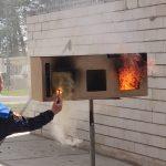 demonstratie ontbranden rookgassen