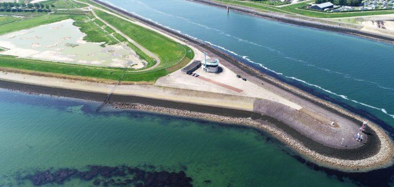 luchtfoto rijkswaterstaat drone wemeldinge