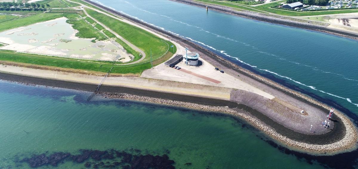 Aeret aanwezig tijdens Rijkswaterstaat Zeeuwse Drone Tweedaagse