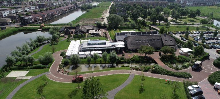 luchtfoto green village nieuwegein