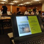 presentatie aeret tijdens rijkswaterstaat zeeuwse drone twee daagse