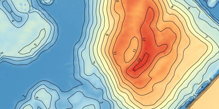 drone data verwerken orthofoto cad gis hoogtemodel hoogtelijnen