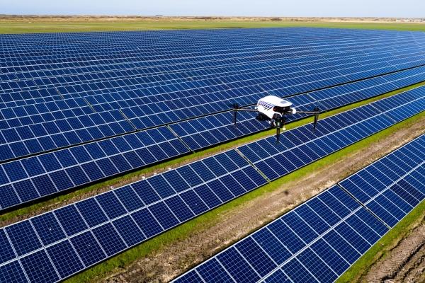 drone inspectie zonnepaneel uav defect luchtfoto zonnepanelen