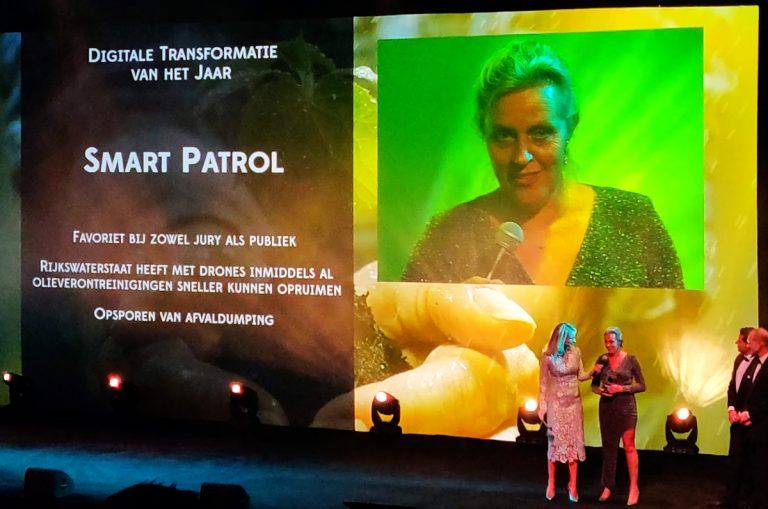 computable awards 2019 winnaar digitale transformatie van het jaar smart patrol rijkswaterstaat aeret drones inzet incident
