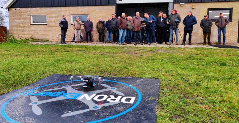 aeret dronexpert weidevogel thermische camera nesten gps locatie weidevogel warmtebeeld