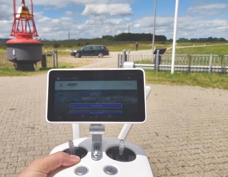 aeret geomaps photo2gis pwa web app incident controller dji drone calamiteit