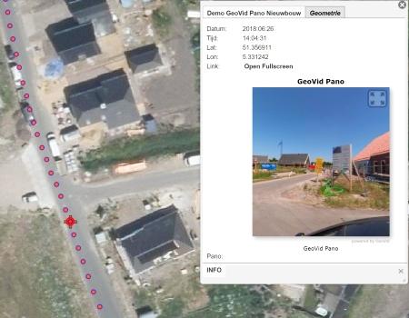 aeret geovid 360 video foto panorama alternatief streetview cyclomedia gis auto nieuwbouw wijk