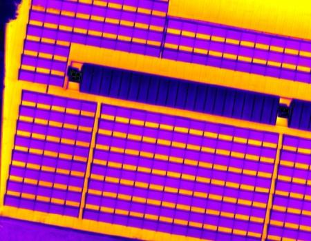 drone inspectie zonnedak zonnepaneel thermische warmtebeeld camera luchtfoto defecten