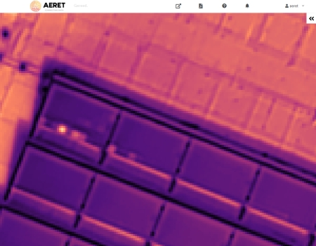 drone zonnepaneel inspectie hotspot defect paneel cel infrarood thermografie