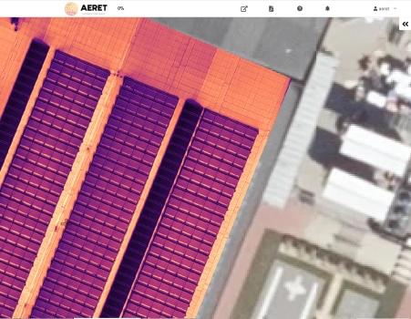 zonnepaneel inspectie drone thermische kaart mapping thermografie defecten
